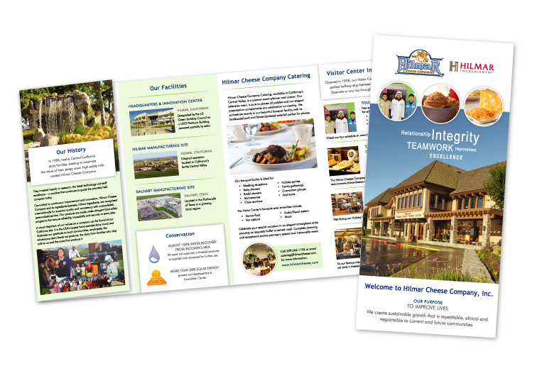 Hilmar Cheese Company | Visitor Center Brochure