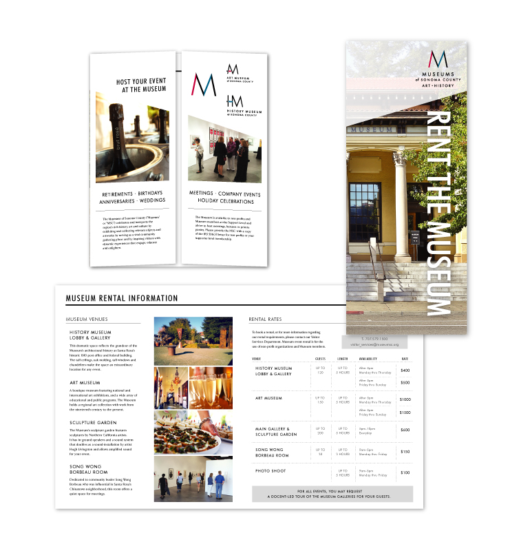 Museum of Sonoma County | Rental Brochure