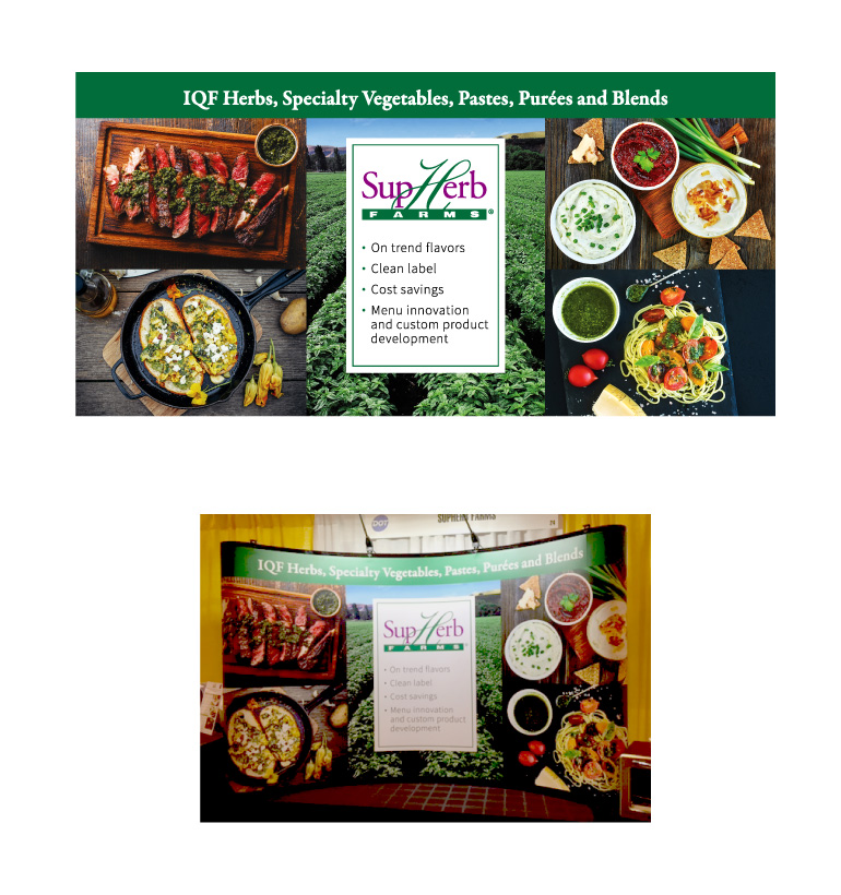 SupHerb Farms | Tradeshow & Banners